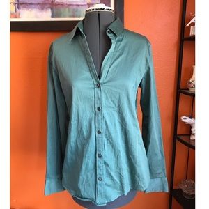 Banana Republic Fitted Stretch Blouse